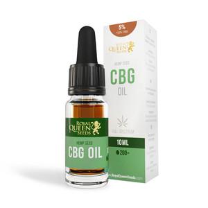 5 % CBG & 2.5 % CBD Olja
