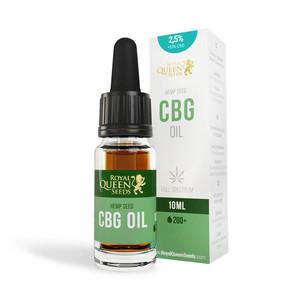 2,5 % CBG & 2.5 % CBD Olja